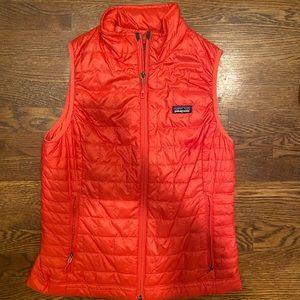 Patagonia Women's Nano Puff Vest - Red